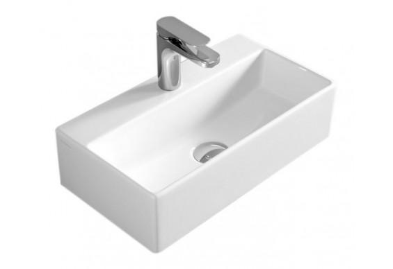 Підвісний умивальник ArtCeram Quadro 27, white (QUL0010100)