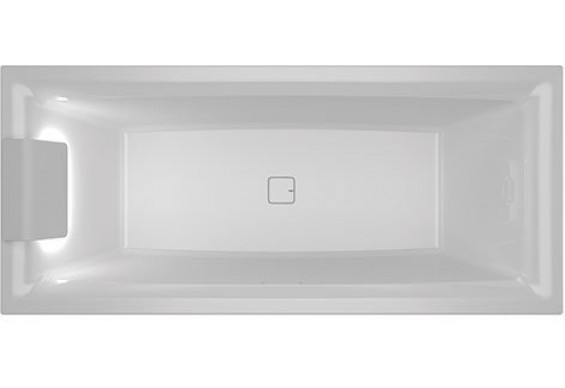 Ванна Riho Still Square LED 170x75 см, L (BR0200500K00131)