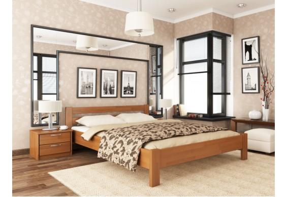 Двоспальне ліжко Естелла Рената 160х190 буковий щит (DV-32.2)