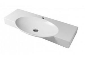 Підвісний умивальник ArtCeram Swing 105, white (SWL0020100)