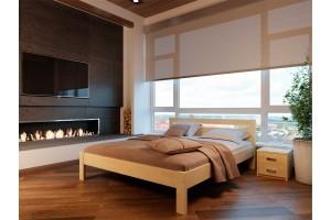 Двоспальне ліжко НеоМеблі Соната 140х200 (NM15/200)