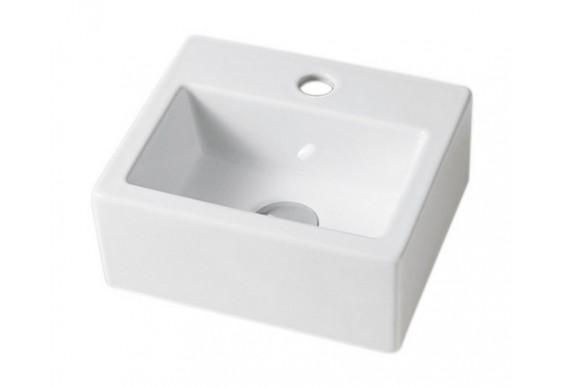 Підвісний умивальник ArtCeram Fuori box mini, white (TFL0190100)