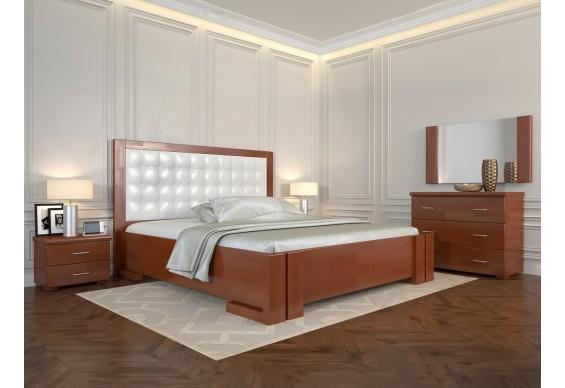 Двоспальне ліжко Арбор Древ Амбер з підйомним механізмом 180х200 бук (ADB180)