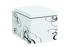 Підвісний унітаз ArtCeram Block, black lettering (BKV0010103)
