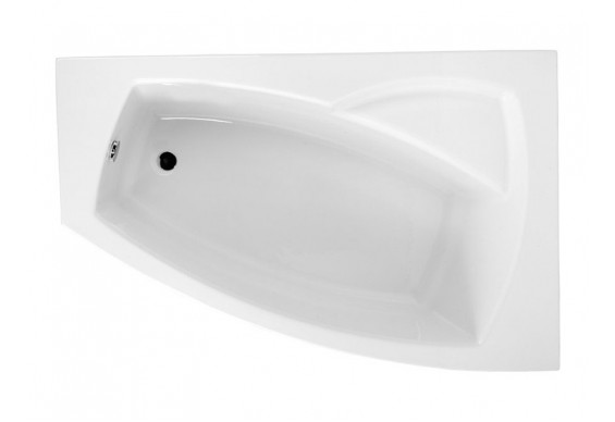 Ванна Polimat Frida асиметрична 160х105, R (00978)