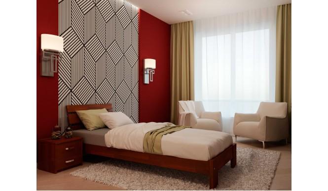 Односпальне ліжко НеоМеблі Лагуна 120х190 (NM3)