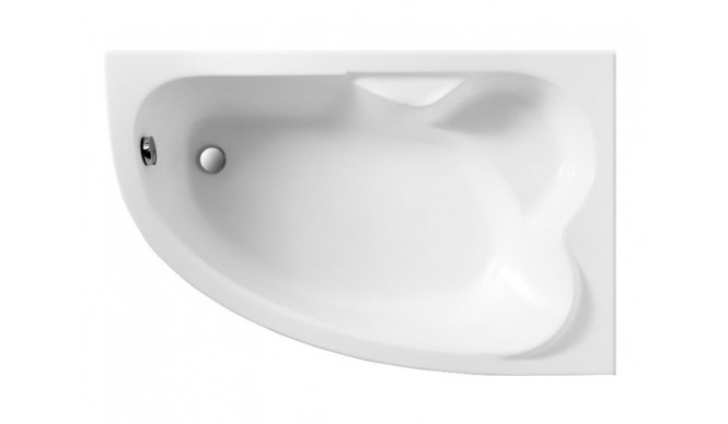 Ванна Polimat Noel асиметрична 140х80, R + ніжки (00853)