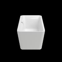 Ванна Villeroy&Boch Squaro Edge 12 DUO 180x80x45 з панелю та сифоном, Кварил (UBQ180SQE7PDV01)
