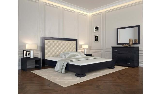 Двоспальне ліжко Арбор Древ Подіум ромб 160х190 сосна (RD160-1)