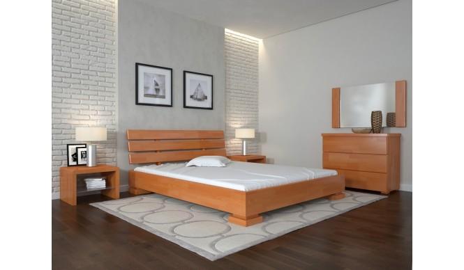 Двоспальне ліжко Арбор Древ Премєр 180х200 сосна (PP180)