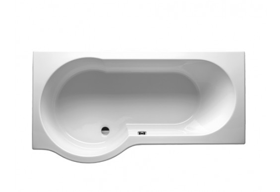 Ванна Riho Dorado асиметрична 170x75/90 см, R (BA80)