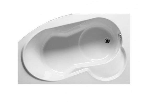 Ванна Riho Nora асиметрична 160x100 см, R (BA74)
