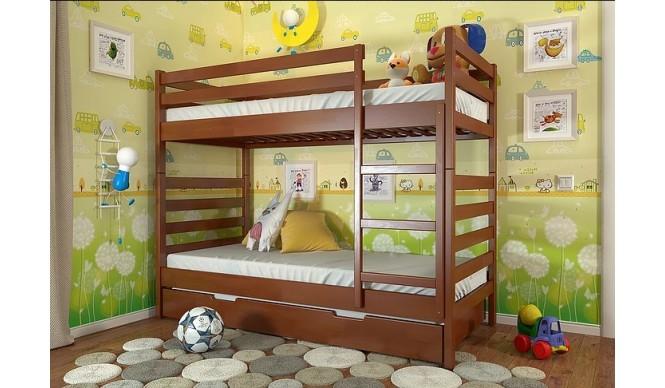 Двоярусне ліжко Арбор Древ Ріо 80х190 бук (DRB80)