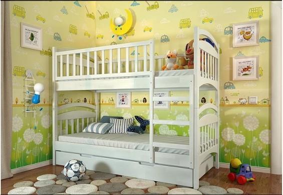 Двоярусне ліжко Арбор Древ Смайл 90х190 сосна (ARS90.2)