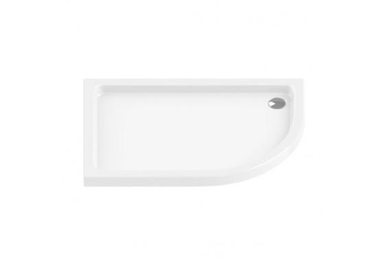 Душовий піддон NEW TRENDY MAXIMA ULTRA L 100x80x5,5 см (B-0334)
