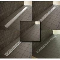 Лінійний трап Radaway, для укладання плиткою від 5 до 7мм, 750мм (5L075B)