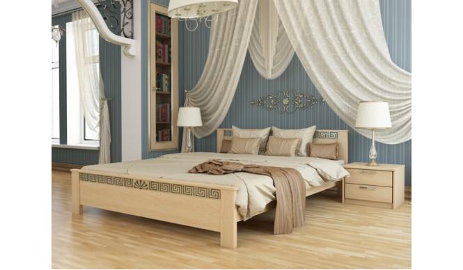 Двоспальне ліжко Естелла Афіна 180х200 буковий масив (DV-30)