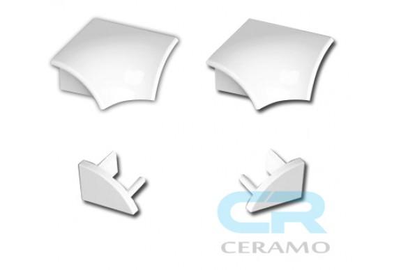 Набір для декоративної планки Ravak 6 мм, білий (XB462000001)
