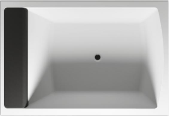 Ванна Riho Savona пряма 190x130 см + ніжки (BB79)