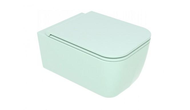 Підвісний унітаз GSG BRIO 52,5 см Smart Clean matt Water (BRWCSO025)