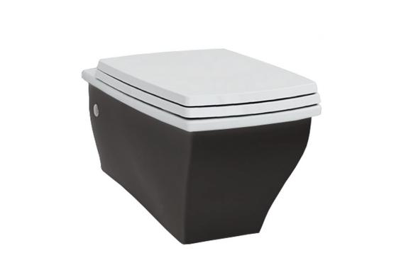 Підвісний унітаз ArtCeram Blues, black white (BUV0010150)