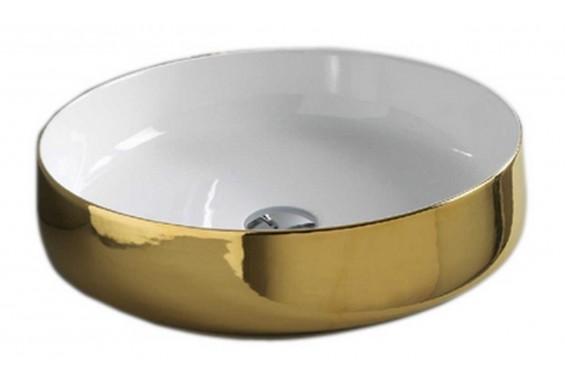 Умивальник на стільницю ArtCeram Cognac 48, gold (COL0020156)