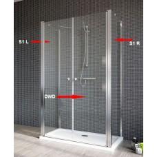 Бокова Стінка для душової кабіни Radaway Eos II S1 80 права, прозоре (3799410-01R)