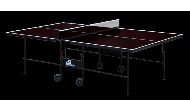 Вуличний стіл для настільного тенісу GSI-sport Athletic Street 274x152,5x76 см Brown