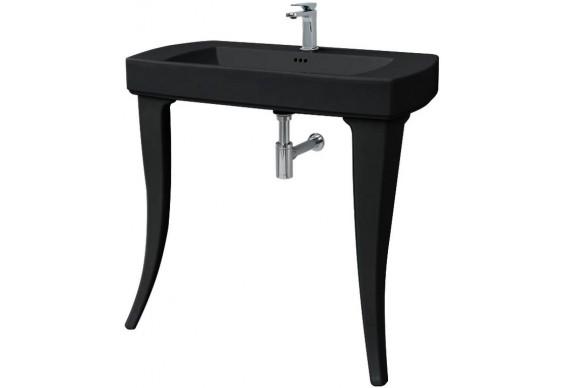 Підвісний умивальник ArtCeram Jazz, glossy black (JZL0010300)