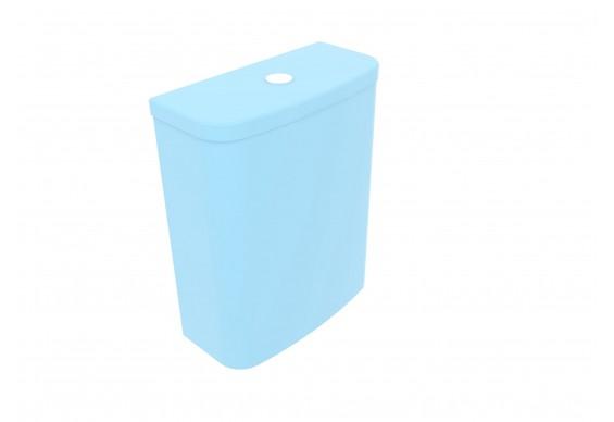 Бачок для унітазу GSG LIKE 69, 36x17xh46,5 см glossy Sky (LKCIMBL022)