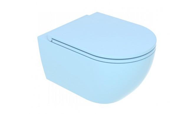 Підвісний унітаз GSG LIKE 52,5 см Smart Clean matt Sky (LKWCSO023)