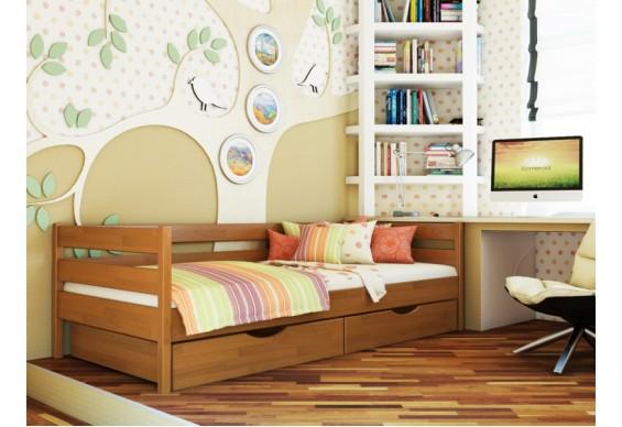 Дитяче ліжко Естелла Нота 90х200 буковий масив (DL-08)
