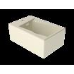 Підвісне біде GSG OZ 53 см glossy Pergamon (OZBI01013)