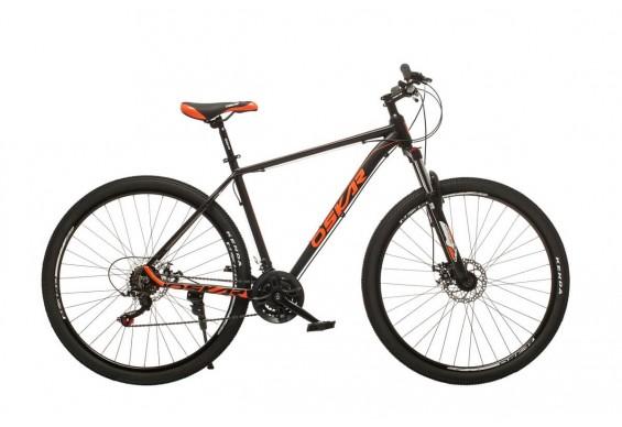 """Велосипед Oskar 29"""" Plus600, чорний (29-m126-bk)"""
