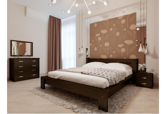 Двоспальне ліжко НеоМеблі Сакура 140х190 (NM28)
