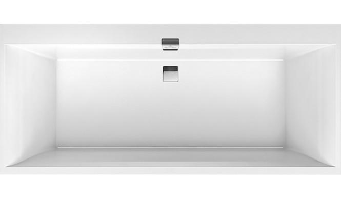 Ванна Villeroy&Boch SQUARO EDGE 12 180x80 + Ніжки + Сифон (UBQ180SQE2DV-01)