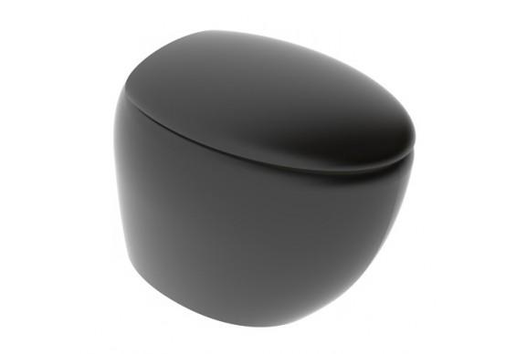 Підлоговий унітаз GSG TOUCH 55 см Smart Clean matt Black (TOWC01SC003)