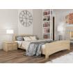 Двоспальне ліжко Естелла Венеція 160х190 буковий масив (DV-05.2)