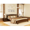 Двоспальне ліжко Естелла Венеція Люкс 180х190 буковий щит (DV-15.2)