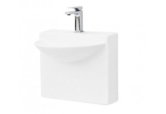 Підвісний умивальник ArtCeram Oneshot wall mini, white (WLL0010100)