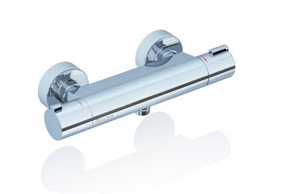 Змішувач для ванни Ravak Termo 200, без лійки TE 072.00/150 (X070051)