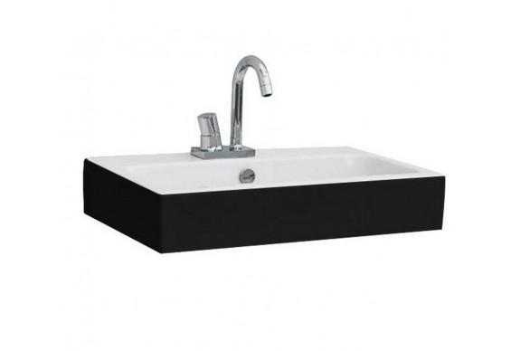 Підвісний умивальник ArtСeram Block, black white (BKL0010150)
