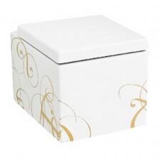 Підвісний унітаз ArtCeram Block, gold lettering (BKV0010106)