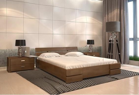 Двоспальне ліжко Арбор Древ Далі 140х200 бук (AB140)