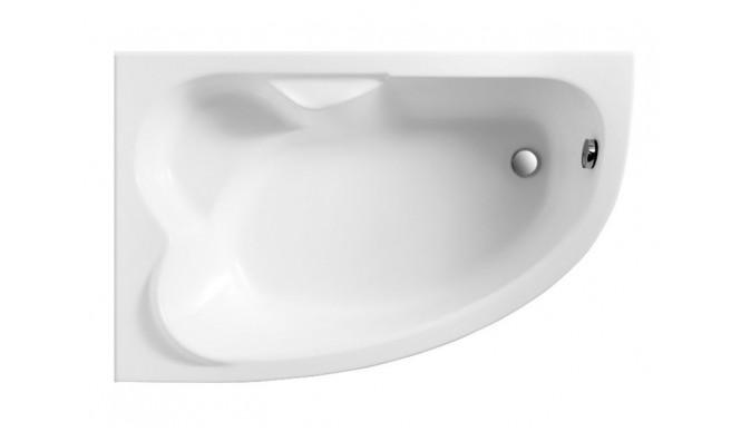 Ванна Polimat Noel асиметрична 140х90, L + ніжки (00777)