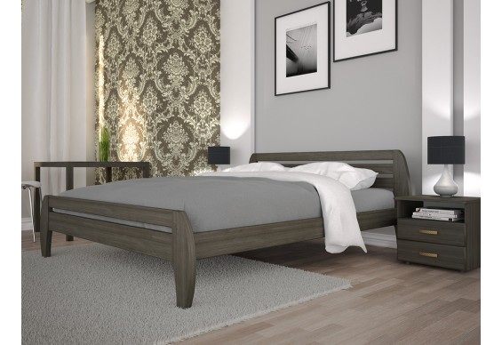 Двоспальне ліжко ТИС Нове 1 140x200 сосна (TYS226)
