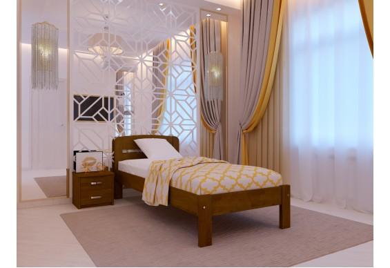 Односпальне ліжко НеоМеблі Октавія С1 80х190 (NM4)