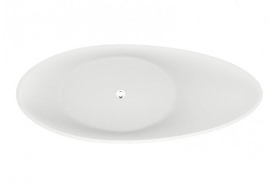 Ванна Polimat ZOE 180х80 чорна мат + ніжки (00332)