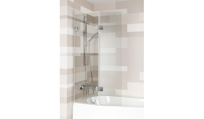 Шторка для ванни Riho SCANDIC S500 Geta 160, Doppio 760 + 355 мм (GC61200)