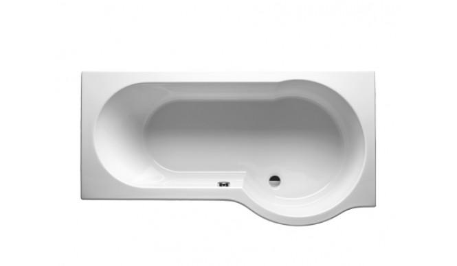 Ванна Riho Dorado асиметрична 170x75/90 см, L + ніжки (BA81)